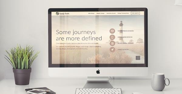 Small Business Graphic design - Web Design