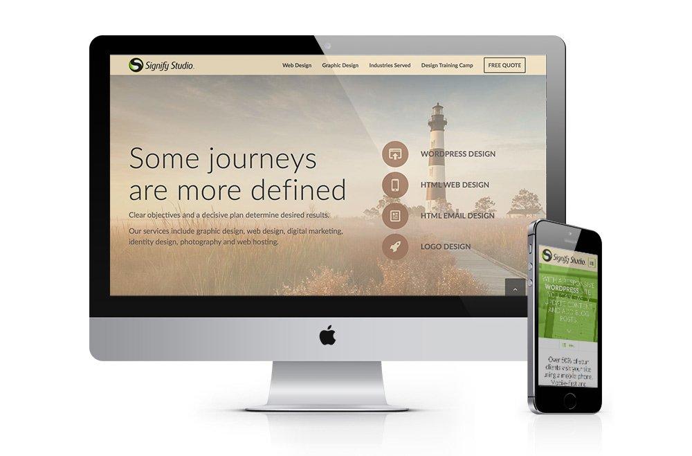 responsive html5 web design